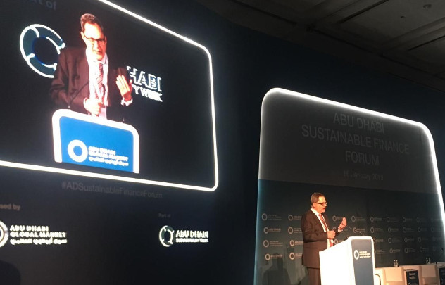 Sustainable Finance Education and Communication at Abu Dhabi Sustainable Finance Forum